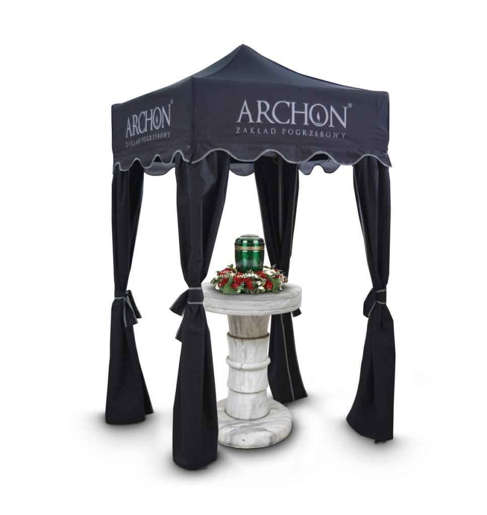 namiot pogrzebowy nad urnę