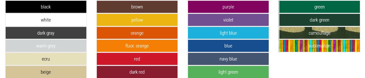 namioty reklamowe kolory 2021