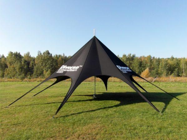 d_namioty gwiazda, namioty reklamowe, namioty plenerowe