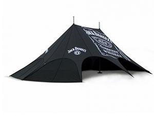 namioty gwiazda, namioty reklamowe, namioty eventowe
