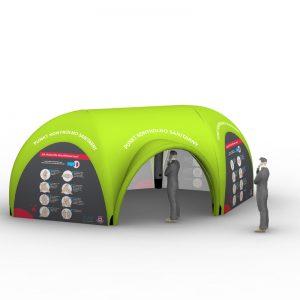namioty ratunkowe, namioty medyczne, namioty wymazowe stałociśnieniowe
