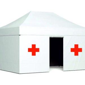 namioty ratunkowe ekspresowe, namioty medyczne, namioty wymazowe