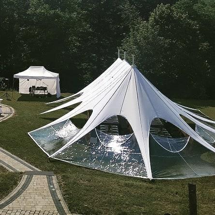 namiot gwiazda, namiot weselnym, namiot eventowy